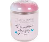 Heart & Home Pre spoločné okamihy Sójová vonná sviečka strednej horí až 30 hodín 110 g