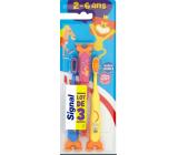 Signal Kids mäkká zubná kefka 2-6 rokov pre deti 3 kusy