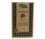 Kappus Natural Wellness Aktívne uhlie certifikovanej prírodnej mydlo 100 g