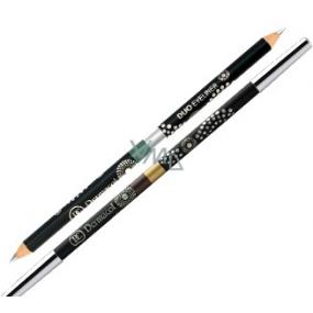 Dermacol Filmových štúdiách Barrandov Prague ceruzka na oči 02 strieborná-zelená 2,5 g