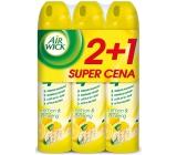 Air Wick Citron a Ženšen 4v1 osvěžovač vzduchu ve spreji 3 x 240 ml