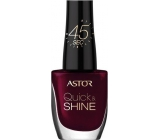 Astor Quick & Shine Nail Polish lak na nechty 302 Glass Of Wine 8 ml