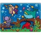 Magické maľovanie vodou sa štetcom Morský svet 20 x 15 cm