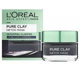 Loreal Paris Pure Clay Detox Mask Intenzívna čistiaca pleťová maska 50 ml