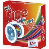 Well Done Fine Color Magnet obrúsky do prania pohlcujúce farbu 12 kusov