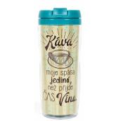 Albi Dárkový termohrnek Káva, spása jediná 300 ml