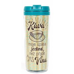 Albi Darčekový termohrnček Káva, spása jediná 300 ml