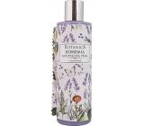 Bohemia Gifts & Cosmetics Botanica Levandule s olivovým olejem, extraktem bylin a jogurtovou aktivní složkou koupelová pěna 250 ml