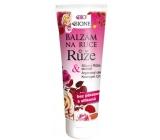 Bione Cosmetics Růže balzám ruce bez parabenů a silokonů 205 ml