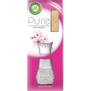 Air Wick Reed Diffuser Pure Cherry Blossom - Kvety čerešní vonné tyčinky osviežovač vzduchu 25 ml