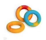 Sum-Plast Guma Kruh s vôňou vanilky plávajúce hračka pre psov 11 cm