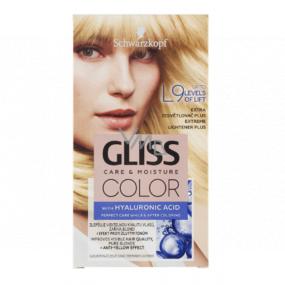 Schwarzkopf Gliss Color farba na vlasy L9 Extra zosvetľovač plus 2 x 60 ml
