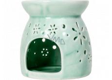 Heart & Home Aromalampa malá zelená 9,5 cm