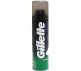 Gillette Mentolová pena na holenie pre mužov 200 ml