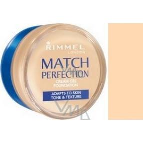 Rimmel London Match Perfection krémový make-up 100 Ivory 18 ml