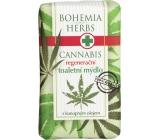 Bohemia Gifts & Cosmetics Herbs Cannabis Konopný olej regenerační toaletní mýdlo 100 g