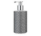 Vivian Gray Diamond Black & White Luxusné tekuté mydlo s dávkovačom 250 ml