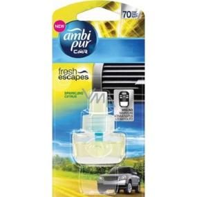 Ambi Pur Car Sparkling Citrus náhradní náplň 7 ml