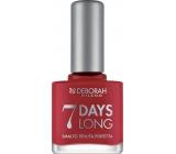 Deborah Milano 7 Days Long Nail Enamel lak na nehty 860 Strawberry Red 11 ml