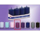 Lima Sviečka hladká stredne fialová valec 40 x 70 mm 4 kusy