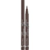 Essence Eyeliner Pen Longlasting pero na očné linky dlhotrvajúce 03 Brown 1,6 g