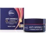 Nivea Anti-Wrinkle + Firming 45+ Zpevňující noční krém proti vráskám 50 ml