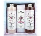 Bohemia Gifts & Cosmetics Boho Style & Gentleman Ruže a Šípek Sprchový gél 250 ml + Toaletný mydlo 145g + Šampón na vlasy 250 ml kozmetická sada