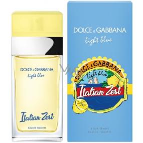 Dolce & Gabbana Light Blue Italian Zest toaletní voda pro ženy 100 ml