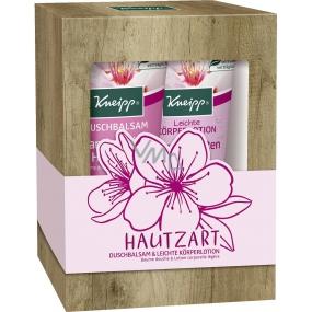Kneipp Hautzart sprchový gél 200 ml + telové mlieko 200 ml, kozmetická sada