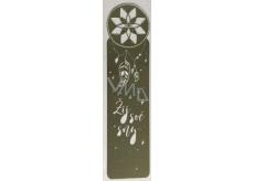 Albi Kovová záložka do knihy Lapač snov 3,3 cm x 12 cm