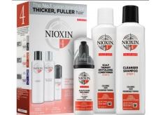 Nioxin System 4 Care 3-fázový systém pre výrazné rednutie chemicky ošetrených vlasov 340 ml