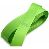 Nekupto Stuha látková taftová zelená 3 mx 15 mm