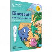 Albi Kúzelné čítanie Samolepková knižka Dinosaury vek 3 - 7 rokov