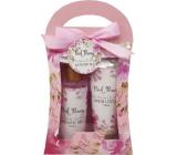 Salsa Collection Ružová pivonka sprchový gél 140 ml + telové mlieko 110 ml, kozmetická sada v taštičke