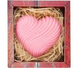 Bohemia Natur Srdce ručně vyráběné toaletní mýdlo v krabičce 100 g