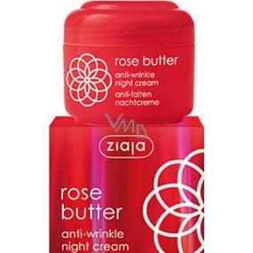 Ziaja Kvet ruže protivráskový krém na noc 50 ml
