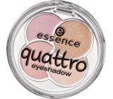Essence Quattro Eyeshadow oční stíny 17 Cr?me de la Cr?me 5 g