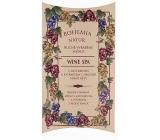 Bohemia Natur Wine Spa s glycerinem a extrakty z hroznů vinné révy ručně vyrobené toaletní mýdlo v papírové krabičce 100 g