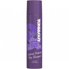 Toni & Guy Express Reboost suchý šampón pre extrémne objem vlasov sprej 250 ml