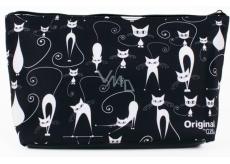 Albi Original Cestovná kozmetická taška Mačky 33 x 19 x 8 cm