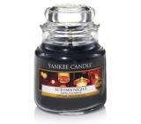 Yankee Candle Autumn Night - Podzimní noc vonná svíčka Classic malá sklo 104 g