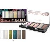 Reverz New City Trends paletka očných tieňov 08 9 g