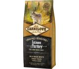 Carnilové Adult Salmon & Turkey superprémiové kompletné krmivo pre dospelých psov všetkých plemien 12 kg