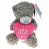 Me To You Medvedík s ružovým srdcom I love you 12 cm