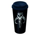 Epee Merch Star Wars - Mandalorianov hrnček na kávu plastový 520 ml