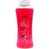 Mika Kiss Love Story s vôňou škorice pena do kúpeľa 1 l