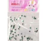 Angel Ozdoby na nehty kamínky světle zelené 1 balení