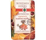 Bohemia Herbs Castanum Extrakt z kaštanu koňského regenerační toaletní mýdlo 100 g