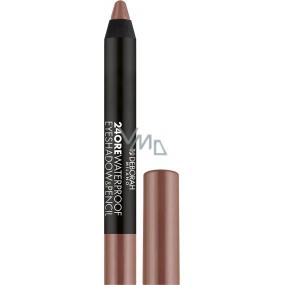 Deborah Milano 24Ore Waterproof Eyeshadow & Pencil oční stíny a tužka na oči 2v1 04 Metal Taupe 2 g