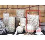 Lima Nevada sviečka slonová kosť elipsa 110 x 125 mm 1 kus